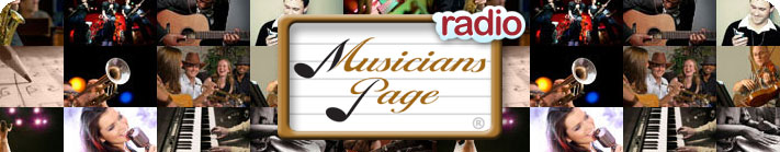 Musicians Page Radio Banner