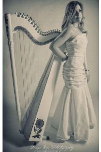 Female Harpist